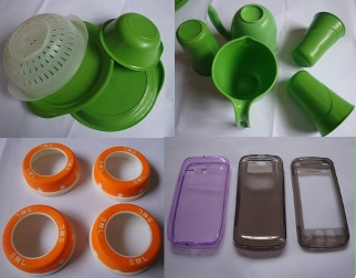 Plastic injecton moldings - 01