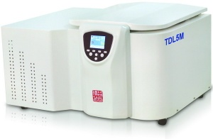 Table type Large Capacity High Speed Refrigerated Centrifuge Max Capacity 4×300ml max centrifuge :29400g - TGL20MW
