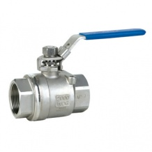 2PC Ball valve with locking device - 2pc ball valve