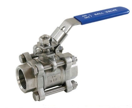 3PC Ball valve with locking device - 3pc ball valve