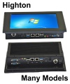 HiDON 8 inch to 32 inch android or windows industrial pc or industrial computer or panel pc or windows embedded pc - HLZ-P0907