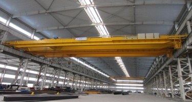 China top manufacture LH type electric hoist double beam bridge crane 20 ton - double beam bridge c