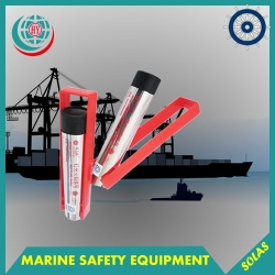 red hand flare signal marine visual signal - HHY60-15000