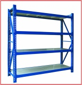 industrial  storage warehouse shelves
