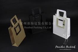 Creative Kraft Paper Bag with Pet Film - Kraft Paper Bag