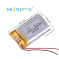Hubats Lithium Li-ion polymer 602035 500mAh Rechargeable Battery For DVR Tachograph Headphone - LP602035-500