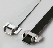 TIGER TEETH TYPE STAINLESS STEEL TIES - A-38