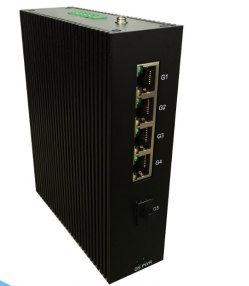 5 Ports gigabit industrial network switch with SFP slot - i505A