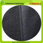 PA coated non woven fusible interlining fabric for suit, uniform - W8025A