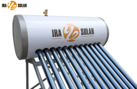 Heat pipe pressurized solar water heater 150L12tubes - IRA-HP58/1.8-12
