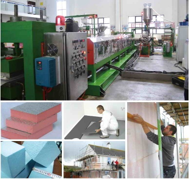 CO2-XPS Foam Board Production Line - XPS foam machine