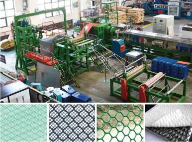 PE/PP Geonet/Civil Net Machine - plastic net machine