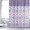 Shower Curtain PEVA Purple Flower - 70X72 72X72