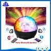 Crystal ball led light 3.0 speaker with FM radio,remote control