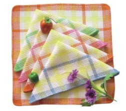 Absorbent non-terry kitchen cleaning tea towel sets - 04