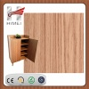 Wood grain pvc laminated sheet for shoe cabinet - HM8