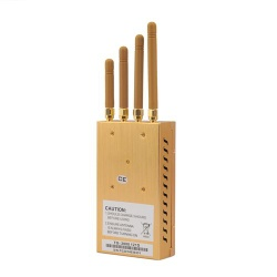 2015 New Portable Four Bands Cell Phone Jammer GPS Jammer with Single-Band Control - 8201