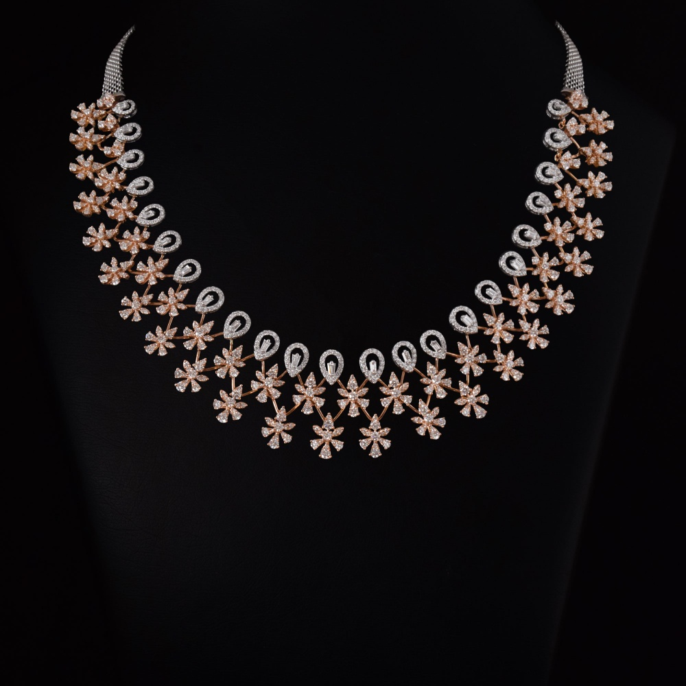 Diamond Necklace - 1003