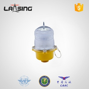 DL10S Single red low intensity red aircraft warning light,red aviation lamp for communication tower - DL10S