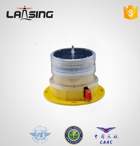 TY10S LED Flashing Solar obstruction light for Telecom Tower, Windturbine, Tall building - TY10S