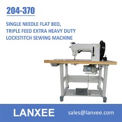 Lanxee 204-370 Durkopp Adler Flat Bed Heavy Duty Sewing Machine - 204-370