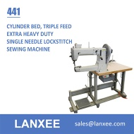 Lanxee 441 Single Needle Cylinder Bed Heavy Duty Sewing Machine - 441