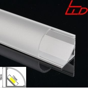 Corner led aluminum  profile for led strip light - LW-AC2