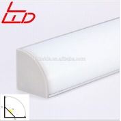triangle aluminum profile for corner led lighting - LW-AC5