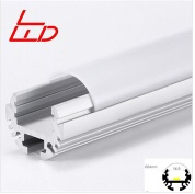 24mm round led strip aluminum profile with polycarbonate cover - LW-Round 24