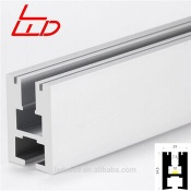 ledwide led strip aluminum profile for glass shelf - LW-GP1