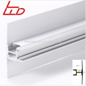 up and down wall lights led aluminum profile for smd 3528, 5050 led strip - LW-AW2