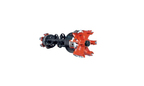 Six Spoke Axle - 004