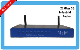 GW301 Industrial 3G WiFi Router with Sim slot Openwrt - GW301