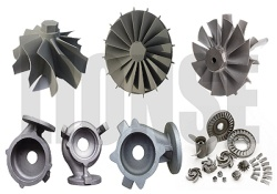 nickel alloy IN713 casting turbo for marine turbochargers,gas turbine,turbine housing - 3