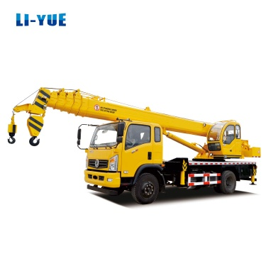 China LIYUE 185HP 10 Tons Truck Crane with T-King Chassis - 10 Tons truck crane