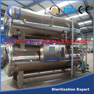 Factory price food sterilization equipment - retort sterilizer