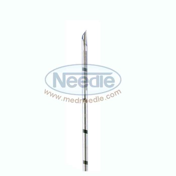Side Bevel Tip Biopsy Needle Cannula - medneedle