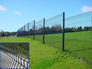 Welded mesh fence welded wire fencing 3D panel fence - SZ01001