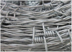 Barbed wire galvanized barbed wire security fence wire - SZ01005