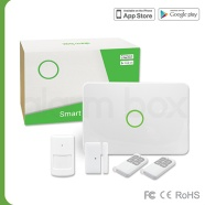 2015 Latest style wireless gsm pir/battery gsm alarm system/garage gsm alarm system S1