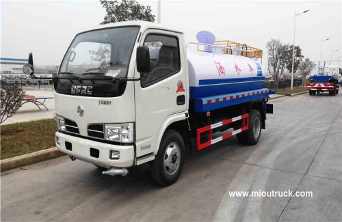 Used  Dongfeng xbw water tank truck 4x2 water truck - EQ1040TJ20D3
