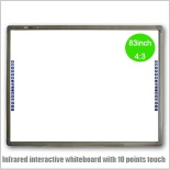 infrared interactive whiteboard with 10 points touch