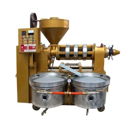 Combined Oil Press with Vacuum Oil Filter - YZYX140WZ Oil Press