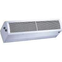 HYDRONIC HEAT AIR CURTAIN - NORMAL & HEATING WIND - Air curtain 07
