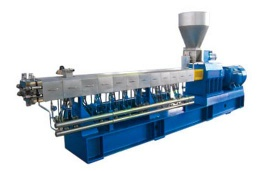 Twin Screw Compounding Extruder / Extrusion Line (TE-135) - 1