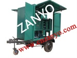 China New T type Single stage vacuum transformer oil purifier machine - ZYS