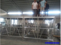 high and stable aluminum adjustable concert stage - OLA001
