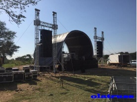 aluminum light pin stage truss - S290