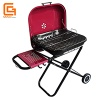 Trolley Type Foldable Portable Wheeled Charcoal Grill BBQ Outdoor Picnic - OG-006