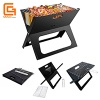 X-style Portable Folding BBQ Grill Notebook Grills - OG-029